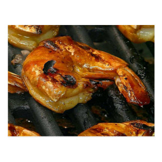 Grilled Shrimp Postcard