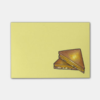 Grilled Toasted Cheese Sandwich Foodie Post Its Post-it Notes