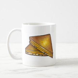 Grilled Toasted Cheese Sandwich Lunch Diner Food Coffee Mug