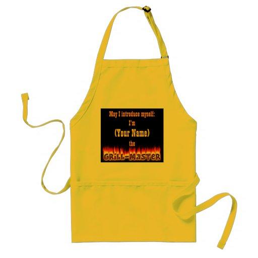 Grillmaster (customizable) apron