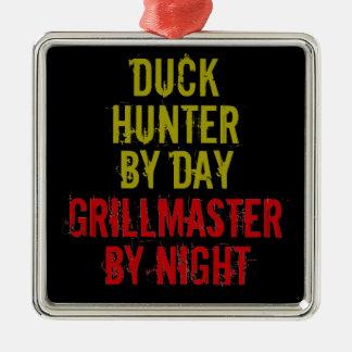 Grillmaster Duck Hunter Metal Ornament