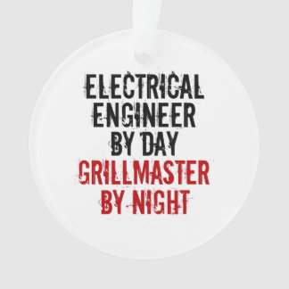 Grillmaster Electrical Engineer Ornament