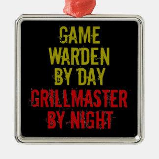 Grillmaster Game Warden Metal Ornament