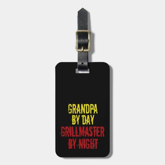 Grillmaster Grandpa Luggage Tag