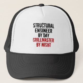 Grillmaster Structural Engineer Trucker Hat