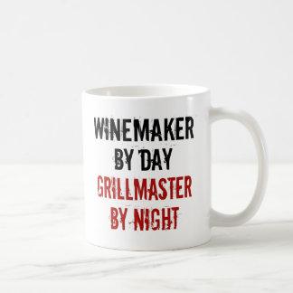 Grillmaster Winemaker Coffee Mug