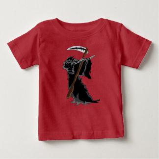 grim Dabbing Funny Halloween Dab Dance Baby T-Shirt