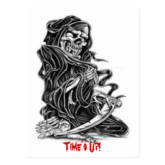 Grim - Designer Grim Reaper Postcard