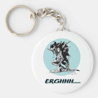 Grim Gargoyle Keychain