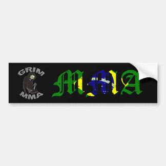 Grim MMA Brazil bumper sticker
