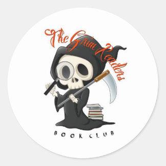 Grim Readers Sticker