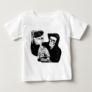 Grim Reaper and Man Baby T-Shirt