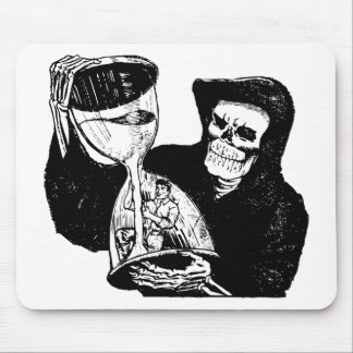 Grim Reaper and Man Mouse Pad