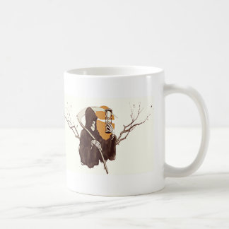 Grim Reaper and The Sands Of Time Coffee Mug