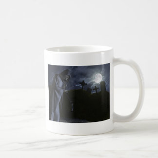Grim Reaper at the Office Coffee Mug