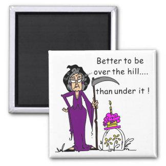 Grim Reaper Birthday Humor Magnet