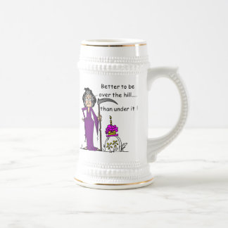 Grim Reaper Birthday Humor Mugs