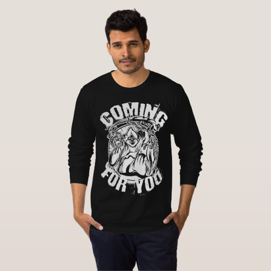 Grim Reaper Coming For You Scary Halloween T-Shirt