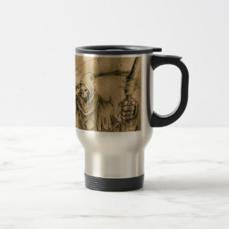 Grim Reaper Death Travel Mug