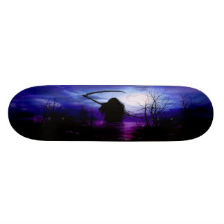 Grim Reaper Fantasy Night Skate Board Decks