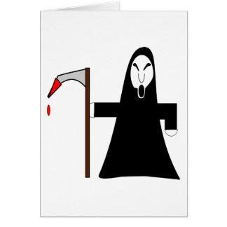 Grim Reaper Greeting Card