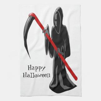 Grim Reaper Halloween Kitchen Towel