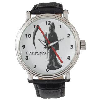 Grim Reaper Just Add Name Wristwatch