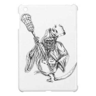 Grim Reaper Lacrosse Defense Pole Tattoo iPad Mini Case