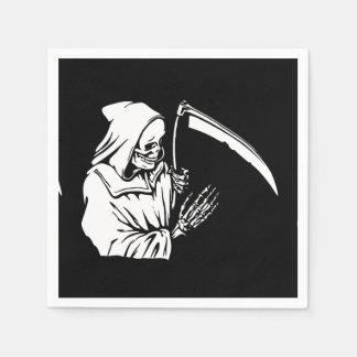Grim Reaper Paper Napkin