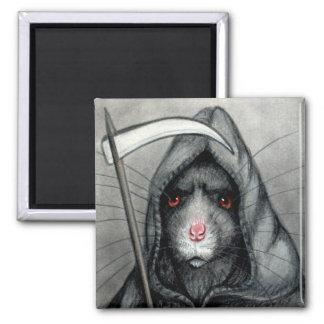 Grim Reaper Rat Magnet