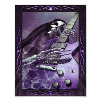Grim Reaper's Guitar Photo Paper (8.5 x 11)
