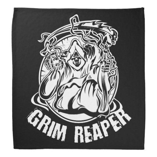 Grim Reaper Scary Halloween Bandana