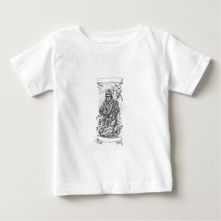 Grim Reaper Scythe Ribbon Tattoo Baby T-Shirt