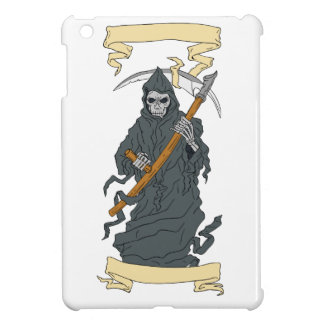 Grim Reaper Scythe Scroll Drawing Case For The iPad Mini