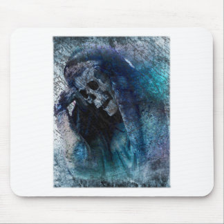 Grim Reaper Skeleton Mouse Pad