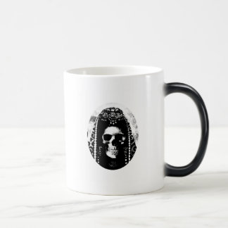 Grim Reaper Skull Design Magic Mug