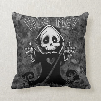 Grim Reaper Throw Pillow