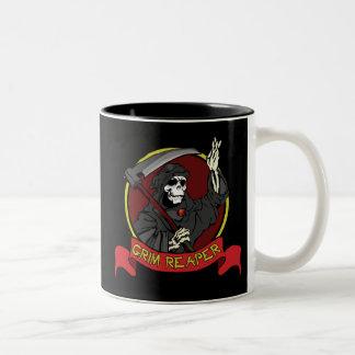 Grim Reaper Two-Tone Mug