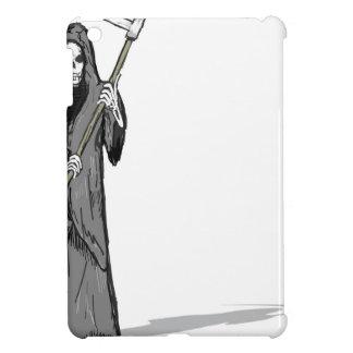 Grim Reaper Vector Sketch iPad Mini Cover