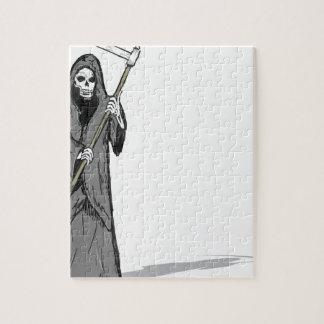 Grim Reaper Vector Sketch Jigsaw Puzzle