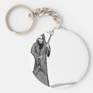 Grim Reaper Vector Sketch Keychain