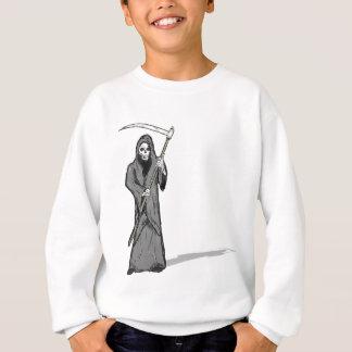 Grim Reaper Vector Sketch Sweatshirt