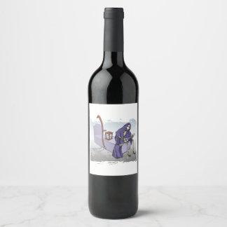 Grim Reaper Wine Label