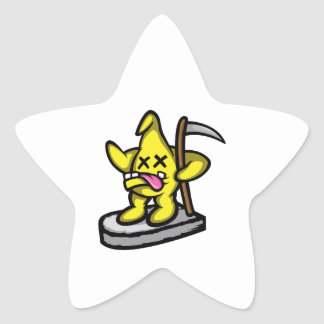 Grim Star Star Sticker