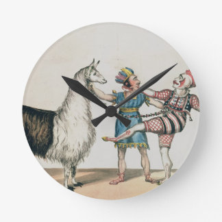 Grimaldi and the Alpaca, in the Popular Pantomime Clocks