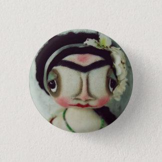 Grimitives Sweet Frida Doll Button