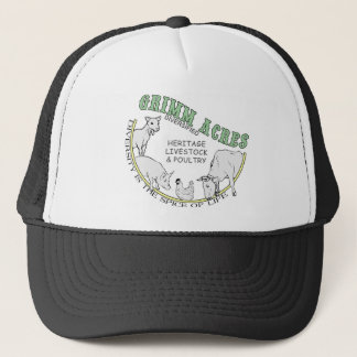 Grimm Acres, Diversified Logo Trucker Hat