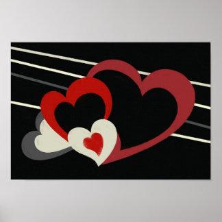 Grimm Hearts Canvas Print