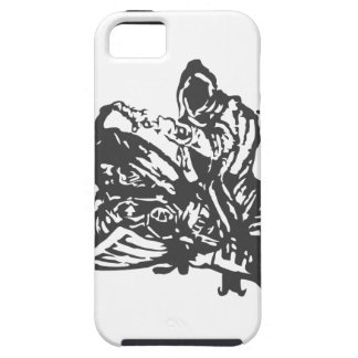 Grimm Reaper Chopper Motorcycle iPhone 5 Cover