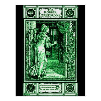 Grimm's Robber Bridegroom Postcard